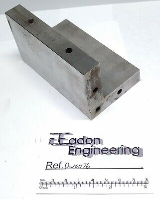 Engineers/Machinists Hardened & Ground Angle Plate For Grinding. 60 X 60 X 103mm • 22.99£