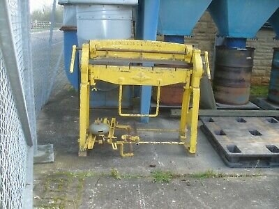 Edwards Besco Sheet Metal Folder. 3 Foot Jaw. Perfect For Small Workshop • 1,500£