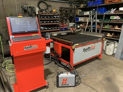 2014 SwiftCut CNC Plasma Cutting Table - Used, Good Condition, Standard Delivery • 8,999.99£