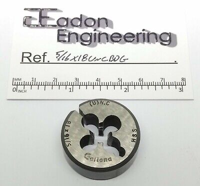 5/16 X 18TPI UNC (Unified National Coarse) Button Die, HSS. By Top Brands. • 4.99£