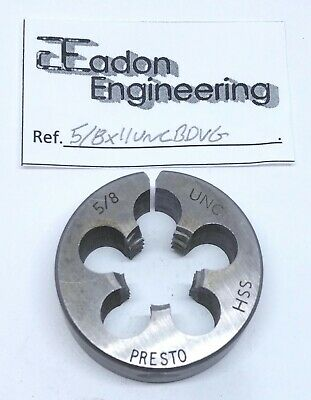 5/8  X 11TPI UNC (Unified National Coarse) Button Die, HSS. By Top Brands. • 5.99£