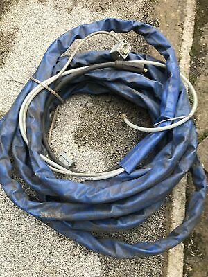 Industrial Welding Cable With Hose & Cable In A Sleeve • 60£