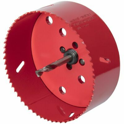 Wolfcraft Hole Saw 112mm Bi-Metal Red Drill Accessory Cutter Tool 5496000 • 31.68£