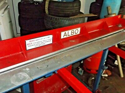 Metal Folder 47  Up  To 16 Guage Well Made Strong Machine  • 205£