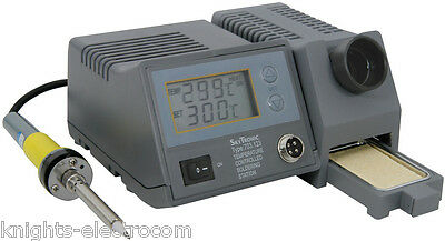 48W DIGITAL SOLDERING STATION Temperature Controlled Solder Iron Station 703.123 • 69.95£