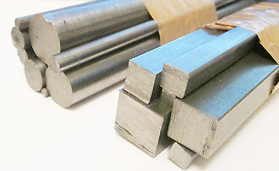 Steel Bar Packs - Imperial Square Or Round 6  Long Model Engineering/live Steam • 9.85£