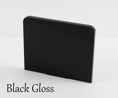 BLACK GLOSS ACRYLIC SHEETS IN 2mm, 3mm & 5mm • 53.63£