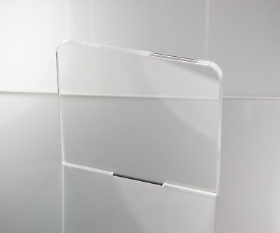 2mm CLEAR ACRYLIC PLASTIC SHEETS PERSPEX • 33.70£
