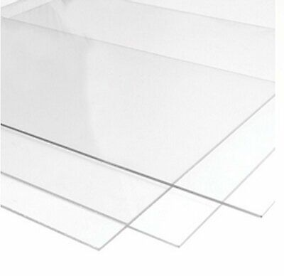 Clear Acrylic (Perspex) Sheet  Cut To Size Custom Size Panels Plastic Panel • 36£