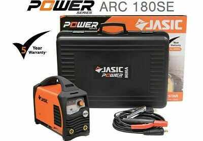 Jasic PRO ARC 180 SE 180amp MMA Electrode Inverter Welder Generator Friendly 230 • 269£