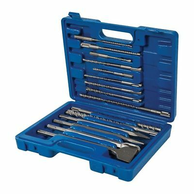 15PCE SDS Plus Masonary Drill & Steel Set In Moulded Case  • 15.99£