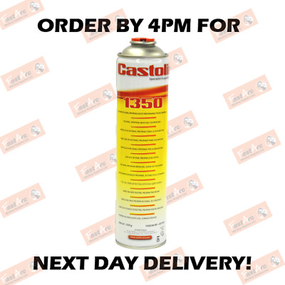 1350 Castolin/oxy Turbo Set Fuel Butane/prop Replacement Gas Cylinder Bottle • 59.99£