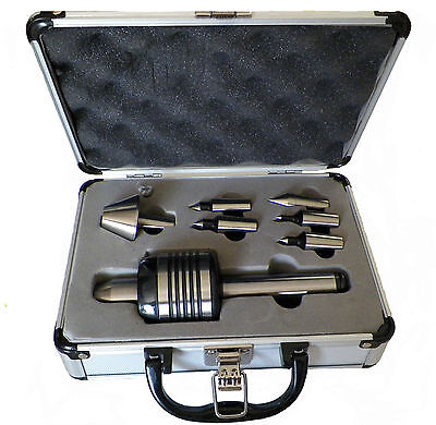 New Mt3 Precision Interchangeable Live Center Set With Morse Taper 3 For Lathe • 114.90£