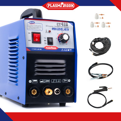 TIG/MMA Welders CT418 Plasma Cutter Machine Welding Machine Torches HouseholdDIY • 199.90£
