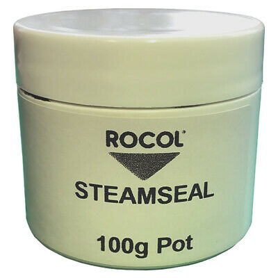 Rocol Steamseal FOLIAC Graphite And Manganese High Presure Pipe Sealant 100g Pot • 10.95£
