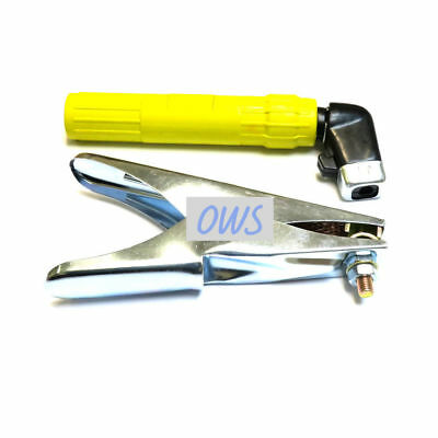 400A Electrode Holder & Earth Clamp Set - MMA Arc Welding 400 AMP TWIST TYPE • 8.95£