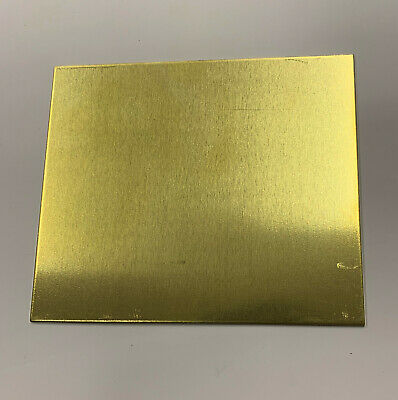 Brass Sheet Various Sizes, Various Thickness. Models Making, Jewellery Making • 6.99£