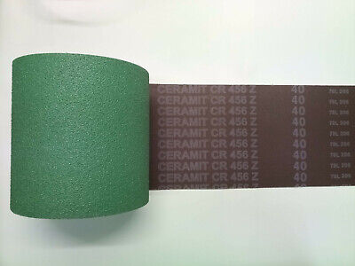 5600mm X 160 Mm HERMES Sandpaper Roll, Type CERAMIT CR-456-Z 40 • 28£