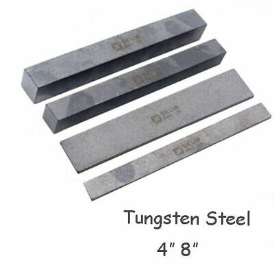 Solid Cemented Carbide Tungsten Steel Flat Bar Rod Strip 4 /8  Thick 2-4mm New • 6.54£