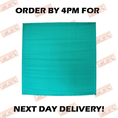 6ft X 6ft & 6ft X 8ft Green Canvas Welding Curtain Heavy Duty Curatin Only  • 41.99£