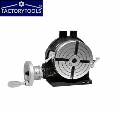 6'' Rotary Table Horizontal And Vertical 4 Slot • 142£