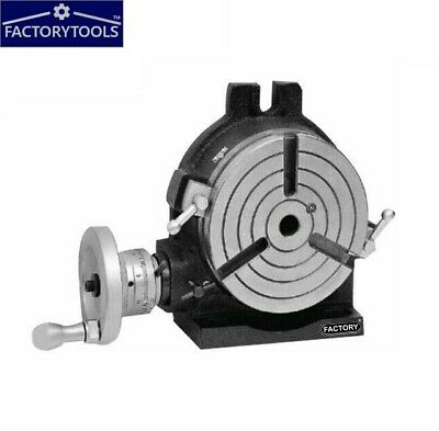 6'' Rotary Table Horizontal And Vertical 3 Slot • 188£