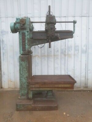 Old Asquith Radial Arm Drill 3 Phase. Possible Yoder Power Hammer Build Pullmax • 750£