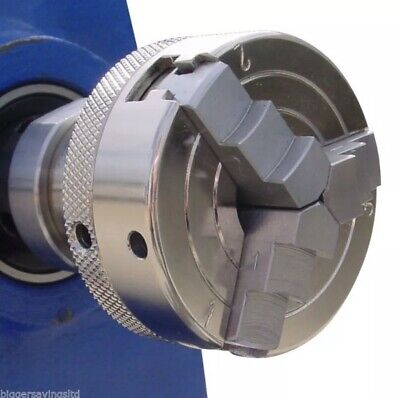 Charnwood 2  - 3 Jaw Lever Scroll Chuck W810 For Wood Working Lathes • 58.99£