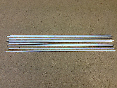 2.4mm Flux Coated Brazing Rods General Purpose X 6 • 5.99£