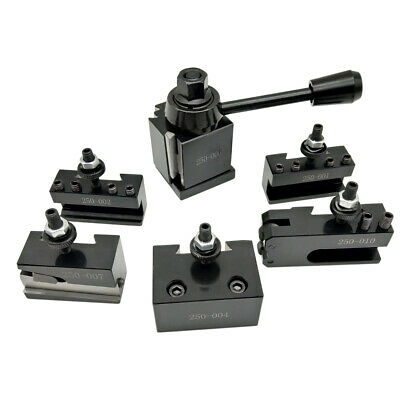 Wedge GIB Type Quick Change Toolpost Tool Holder For Lathe Tools I5S5 • 35.95£