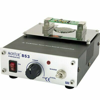 Aoyue 853 ESD Safe Compact Preheater Station With Variable Temperature Setting • 87.40£