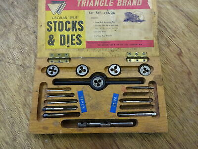 Nice Set Of B.A. Taps And Dies • 24£