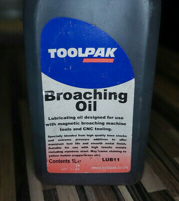 Toolpak Broaching Oil 500ml • 9.99£