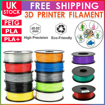 3D Printer Filament PLA PETG Printing 1.75mm 1KG Various Colours Available UK • 13.99£