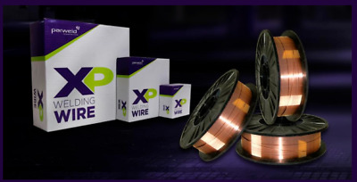 PARWELD XP MIG Welding Wire A18, 15Kg, 0.8mm Or 1.0mm, Mild Steel, SG2 *NEW* • 34£