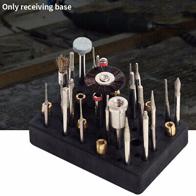 Saving Space Multi Hole Accessories Storage Base Drill Organizer Milling Cutter • 6.54£