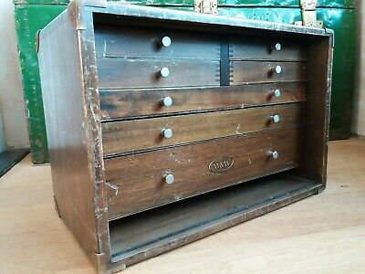 Vintage Moore & Wright Sheffield Ltd Tool Box With Bespoke Drawer Inserts • 99£