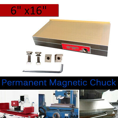 Fine Pole Permanent Magnetic Chuck Dia. 6x16  For Grinding Milling Machine Lathe • 169.16£