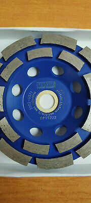 Premier Diamond Grinding Cup Concrete Granite P5-CG115mm Polishing Sanding Disc  • 7£