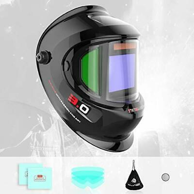 Solar Automatic Welding Helmet With Ultra-Large Screen And True Color, 4 • 101.99£