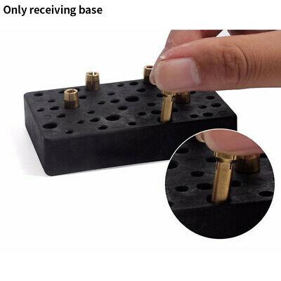Portable Multi Hole Durable Drill Organizer Holder Milling Cutter Storage Base • 7.28£