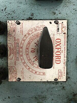 Oxford RT140 Electric Arc Welding Transformer (No Leads Inc) & Spare Electrodes • 150£