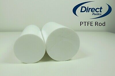 PTFE Rod Natural Solid Round Bar - From 4mm Diameter To 100mm Diameter  • 152.83£