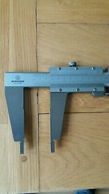 Mitutoyo Vernier 160-103. Hardened Stainless Steel. Extremely Good Condition. • 85£