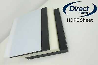 HDPE (High Density Polyethylene Sheet) - Black/Natural - From 1mm To 30mm Thick  • 17.74£