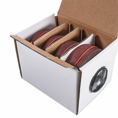 4* Sanding Belt Roll Drawable Emery Cloth Sandpaper Replaces 25mmx6m • 24.43£