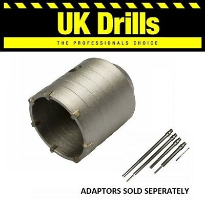 TCT CORE DRILLS 30-150mm & ADAPTORS FOR CONCRETE, MASONRY AND BRICK • 24.60£