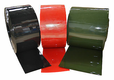 PVC Welding Curtain/Strip 200x2x25mtr Green/Bronze/Red • 53.75£