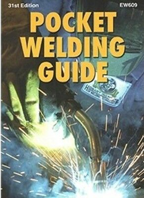 Hobart Pocket Welding Guide - 31st Edition - Brand New! Quick Ship! • 17.89£