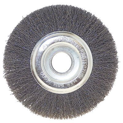 Josco CRIMPED WIRE WHEEL BRUSH 150x12mm Remove Rust, Paint & Grime *Aust Brand • 28.60£